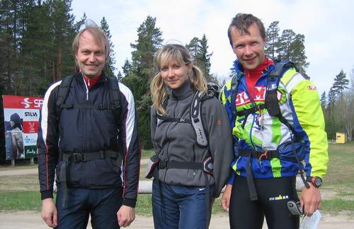 36h treening Kõrvemaal - Alar, Kaja, Leivo