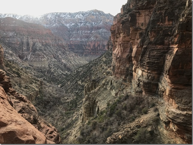Grand Canyon adventure run : Rim to Rim to Rim (R2R2R)