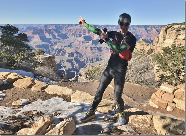 Grand Canyon adventure run: Rim to Rim to Rim (R2R2R)