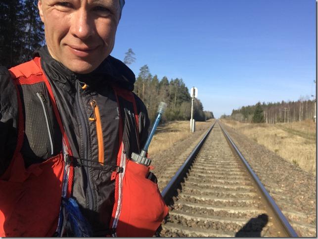 111km sirgjoonejooks läbi Eestimaa