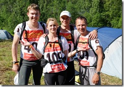 RedFox 2014 Twister Adventure team enne starti
