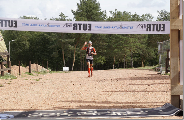 Estonia Ultra-Trail Race 64km winner Leivo Sepp